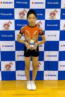 ユース1男子シングル・優勝
