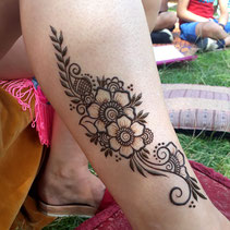Henna for festivals and events by mehndi artist Red Hand Henna