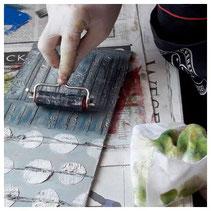 Offene Werkstatt Siebdruck lernen