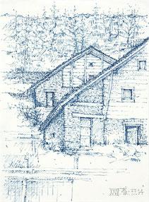 Markus Friedli, Zeichnungen