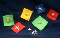 Insignias de estrellas