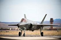 """F-35 USAF debutteranno in un combattimento simulato durante la """"Green Flag"""" di Nellis."""