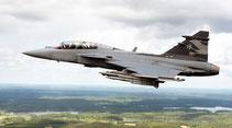 """I Gripen-E scelgono """"Skyguard-G"""" e """"BriteCloud"""" di Selex ES."""