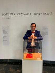 Gewinner des Pott: Design Award 2019 Dominic Pieper