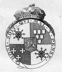 Das Grafen-Wappen Schonbergs