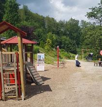 Ansicht des Spielplatzes, weitere Bilder in der Galerie