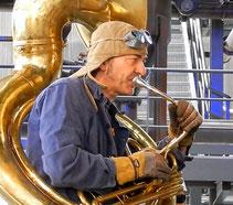 """2014: Special Guest Jean-Francois (""""Chanche"""") Charbonnier (Tuba)"""