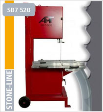 prodito stone line lintzaag of bandzaag voor amt SB7-520 lintzaagmachine / bandzaagmachine voor het verzagen van steen poroton en snelbouw