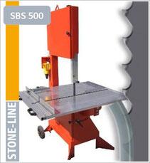 prodito stone line lintzaag of bandzaag voor falkenstein SBS500 lintzaagmachine / bandzaagmachine voor het verzagen van steen poroton en snelbouw