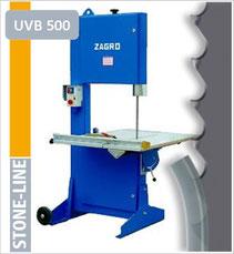 prodito stone line lintzaag of bandzaag voor zagro UVB500 lintzaagmachine / bandzaagmachine voor het verzagen van steen poroton en snelbouw