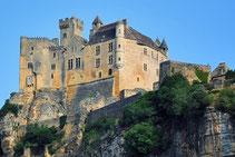 Le château de Beynac, sur la commune de Beynac et Cazenac, au cœur du Périgord noir, près de Sarlat.