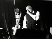 On Stage + Sax (Frank Bohlender)