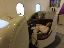 Business Class, Qatar Airways, Asia for 2
