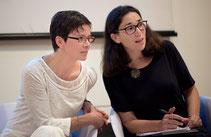 con Anne Marie MacDonald - ph. Flavio Gregori