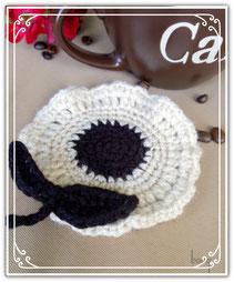 crochet coaster gehäkelte untersetzer Blumen Flower