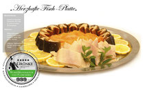 Herzhafte Fisch-Platte