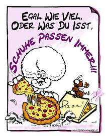 gupis huhn,hühner,seidenhühner,schuhe,pizza,weisheiten