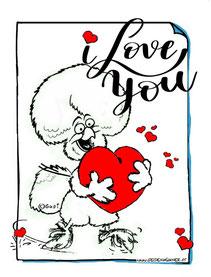 gupis huhn,hühner,seidenhühner,i love you, love, liebe,