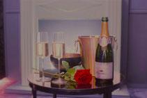 Suite de luxe week end amoureux
