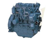 moteur industriel kubota