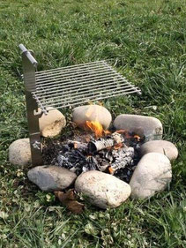 Outdoorgrill Feuerstelle