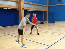Badminton im Dezember