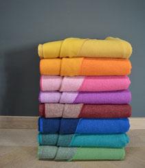 irische Wolldecken aus Schurwolle - Cosy reversible collection