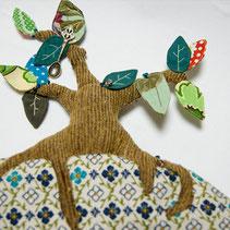 木の生えたティーコゼー