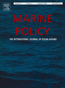 Marine Policy, First Special Issue of International Peer-Reviewed Journal on Marine Spatial Planning, September 2008