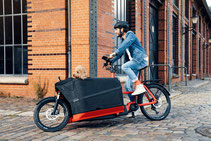 карго електрически велосипед, електрическо колело