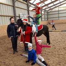 Dezember: Weihnachtspferde