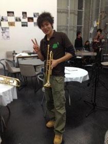 歌いきった後のYuki Yamamoto