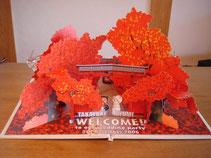 紅葉ウェルカムボード