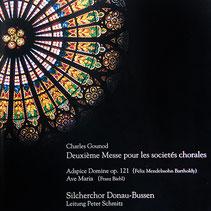 CD-Cover Deuxieme Messe pour le societes choralesDeuxieme Messe pour le societes chorales