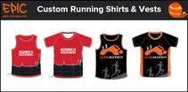 Custom Running Shirts and Run Vests
