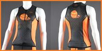 Custom Sprint Triathlon Tops (Front Zip Custom Tri Tops)