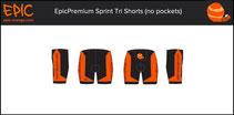 Custom Sprint Tri Shorts