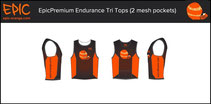 Custom Endurance Tri Tops