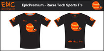 Racer Tech Run Sports T's