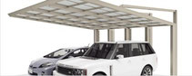 Aluminium-Doppelcarport Next - Direkt zum Konfigurator mit Preis