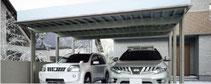 Aluminium-Doppelcarport SHG - Direkt zum Konfigurator mit Preis