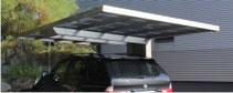Aluminium-Einzelcarport Monaco - Direkt zum Konfigurator mit Preis