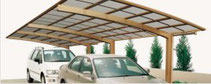 Aluminium-Doppelcarport Nagoya - Direkt zum Konfigurator mit Preis