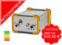 Baumaschinenortung mit GPS & Glonass und Akku