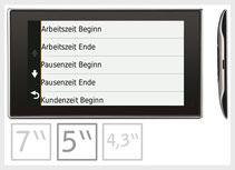 Navigation von Garmin als mobile Arbeitszeiterfassung
