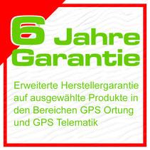 GPS-Tracker mit 6 Jahren Herstellergarantie