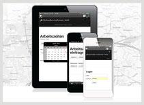 Mobile Zeiterfassung / Arbeitszeiterfassung