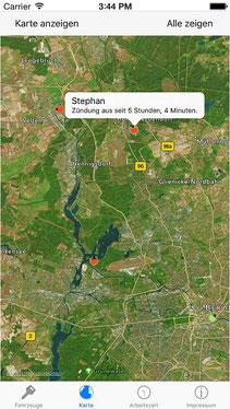 GPS Ortung Motorrad mit iPhone APP
