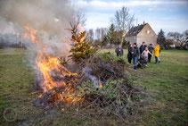 11.01.2020 Weihnachtsbaumverbrennen