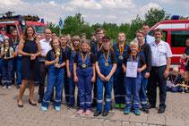 22.06.2019 Jugendfeuerwehren aus Thüringen